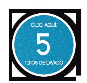 5 TIPOS DE LAVADO PNG
